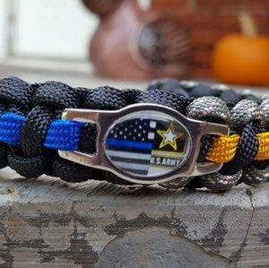 Jewelry - Police/Army Paracord Bracelet